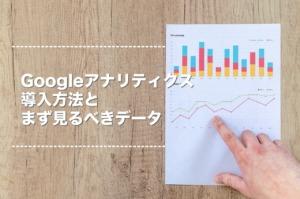 【初心者向け】Googleアナリティクス導入方法とまず見るべきデータ5つ